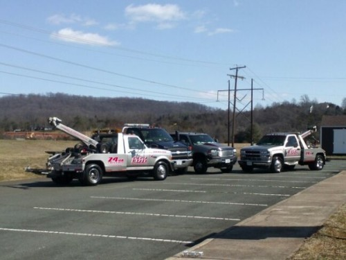 towing service Charlottesville