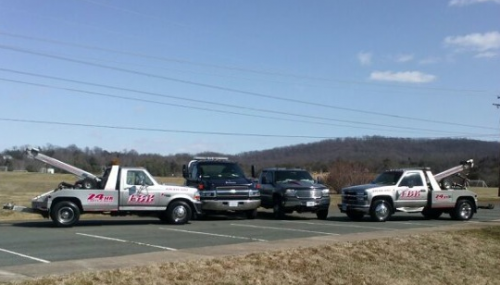 Charlottesville towing service